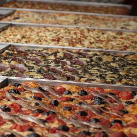 pizza en plateau